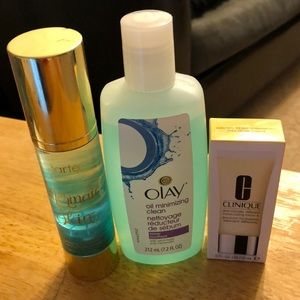 Clinique, Tarte and Oil of Olay products